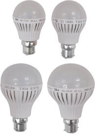 3W,5W,7W,9W-B22-LED-Bulb-(White,-Set-Of-4)