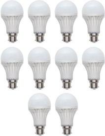 Ace 7 W LED Bulb (White, Pack of 10)