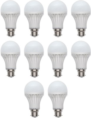 Crown-Original-5-W-LED-Bulb-B22-White-(pack-of-10)