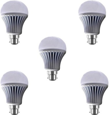 15W-B22-LED-Bulb-(White,-Set-of-5)