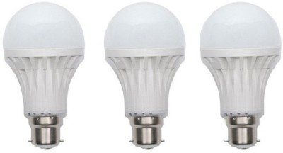 15W LED Bulb (Pack of 3)
