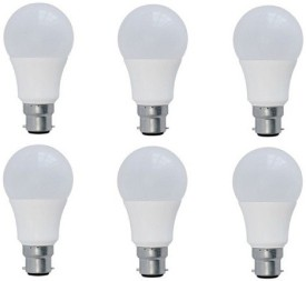 3-W-B22-PA-LED-Bulb-(Yellow,-Pack-of-6)