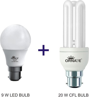 Ornate 9 W, 20 W CFL Bulb Image