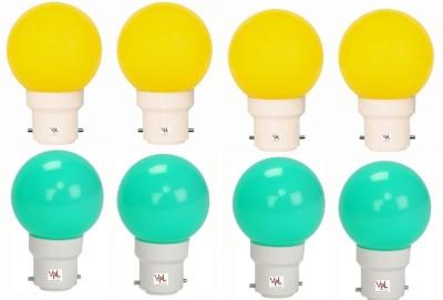 VPL-India-0.5W-Multicolour-LED-Light-(Pack-Of-8)