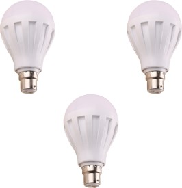 9W-460-Lumens-White-Eco-LED-Bulbs-(Pack-Of-3)