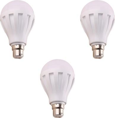 9W 460 Lumens White Eco LED Bulbs (Pack Of 3)