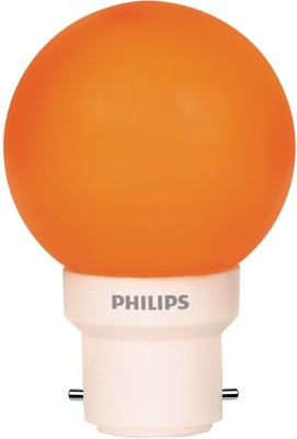 0.5-W-LED-Deco-B22-IND-Bulb-Orange-(pack-of-6)