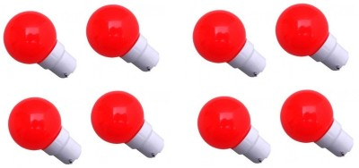0.5W Red LED Bulb (Pack of 8)