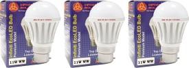 Eco-B22-11W-LED-Bulb-(Warm-White,-Pack-of-3)