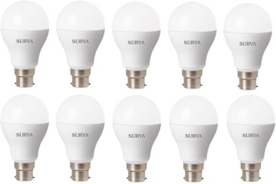 B23D 12 W 1260Lumen LED Bulb (White, Pack of 10)