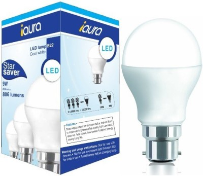 9W 806 Lumens Cool White LED Bulb