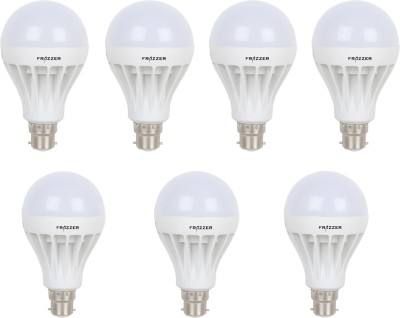 FRAZZER-9W-White-LED-Bulbs-(Pack-Of-7)