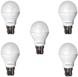 3W Cool White LED Bulb (Pack of 5)