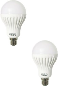 ASBL 7 W LED Bulb Cool White (pack of 2)