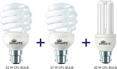Ornate 23 W, 27 W, 20 W CFL Bulb Image