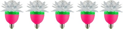 Ace-Lotus-3W-LED-Bulb-(Multicolor,-Pack-of-5)