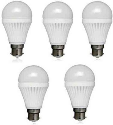 12W LED Bulb (White, Pack of 5)