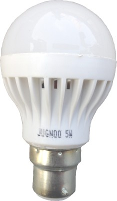 5W B22 LED Bulb (white , Set of 5)