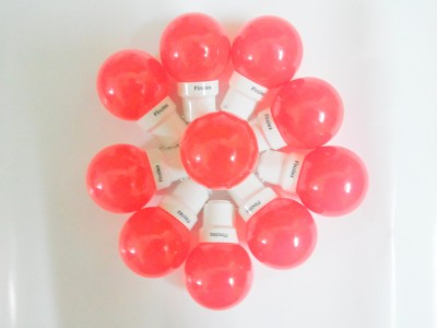 0.5W Red LED Bulbs (Pack Of 10)