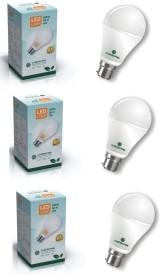 5 W LED Bulb White (pack of 3)