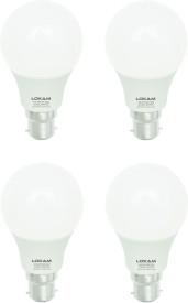 3W B22 LED Bulb (Cool White, Pack of 4)