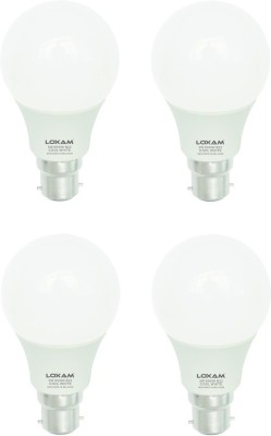 3W B22 LED Bulb (Cool White, Pack of 4)