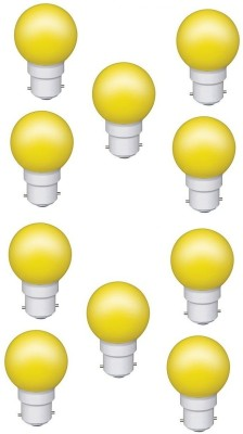 0.5W Yellow LED Bulb (Pack of 10)