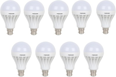 3W Warm White LED Bulb (Pack of 9)
