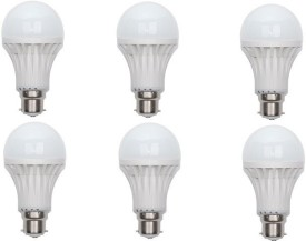 7 W LED Bulb B22 White (pack of 6)