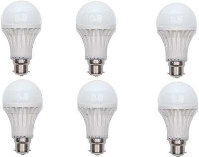 Neon-Lite-18W-B22-LED-Bulb-(White,-Pack-of-6)