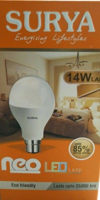 14 W LED Bulb (White, Pack of 2)