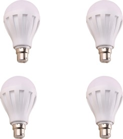 7W 460 Lumens White Eco LED Bulbs (Pack Of 4)