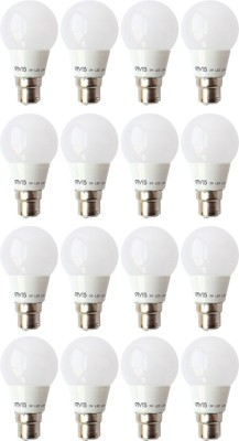 3 W B22 LED Bulb (White, Pack of 16)