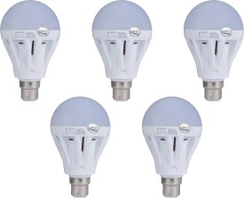7W-B22-LED-Bulb-(White,-Set-of-5)