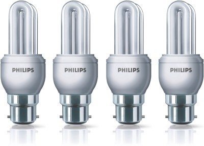 Philips 11 W CFL Pack Of 4 Genie Bulb Image