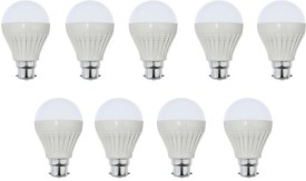 5W-White-LED-Bulb-(Pack-of-9)