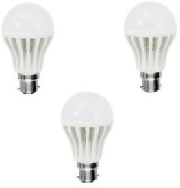 12W White LED Bulbs (Pack Of 3)