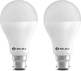 15 W LED CDL B22 HPF Bulb White (pack of 2)