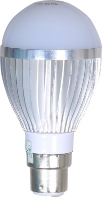 5W Aluminium Body Warm White LED Bulb