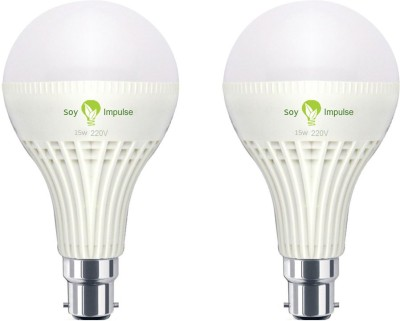 Soy-Impulse-15W-B22-LED-Bulb-(White,-Set-of-2)