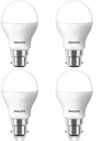9 W White LED Bulb (Pack of 4)