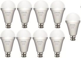 5W White Eco Led Bulbs (Pack Of 9)