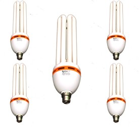 Rashmi 45 W CFL 4U Lamp B22 Cap Bulb