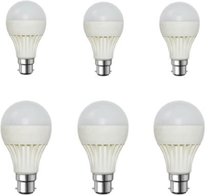 Rashmi-7W-White-LED-Bulb-(Pack-of-6)