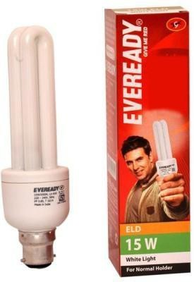 ELD 15 W CFL Bulb (Pack of 4)