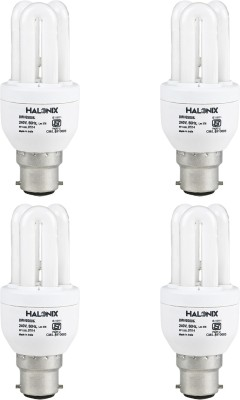 8 W CFL 3U Bulb (Pack of 4)