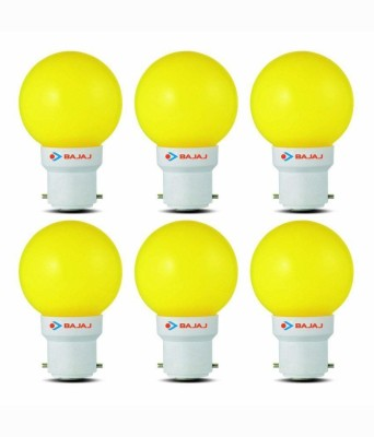 0.5W-LED-Bulbs-(Yellow,-Pack-of-6)