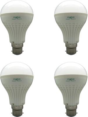 Super Bright 7W LED Bulbs (White, Pack of 4)