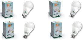 7 W LED Bulb (White, Pack of 4)