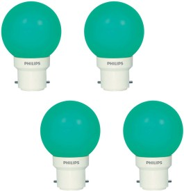 Deco-Mini-0.5W-LED-Bulbs-(Green,-Pack-of-4)